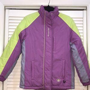 American Girl puffy jacket